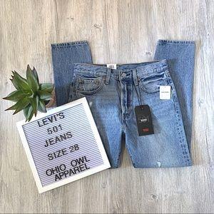 NWT Levi's Premium 501 Skinny Women's Jeans